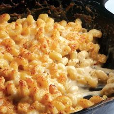 Quick Skillet Mac and Cheese- good for my french cheese selection