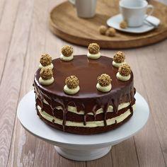 Schoko-Kirsch Torte mit GiOTTO
