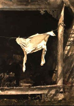 The bachelor by Andrew Wyeth