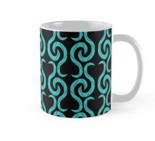 Cyan pattern Mug