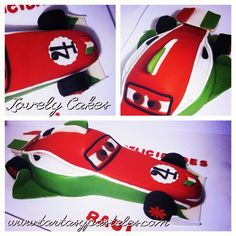 Tarta coche Francesco cars