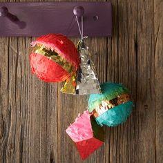 confetti ornaments {so cute and easy to DIY!}