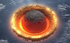 Nadciąga apokalipsa! Tak będzie wyglądać uderzenie asteroidy w Ziemię