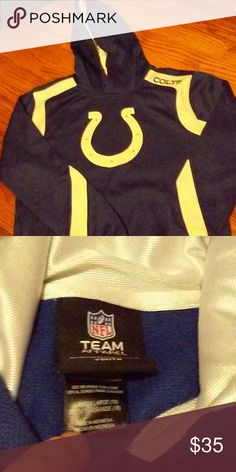 Colts hoohie New colts hoodie. Bought too small. NFL Shirts   Tops  Sweatshirts   8b77f45aa