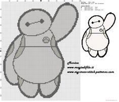 BayMax 2 cross stitch pattern