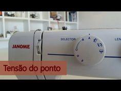 Como deixar a máquina de costura com ponto perfeito e resistente. - YouTube