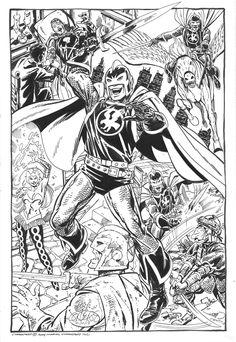 Black Knight by John Byrne