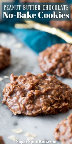 How to make perfect NO-BAKE COOKIES from scratch! Peanut butter chocolate cookie… How to make perfect NO-BAKE COOKIES from scratch! Peanut butter chocolate cookies that don't need the oven! This is a great old-fashioned cookie recip… – Easy Christmas Cookie Recipes, Easy Cookie Recipes, Christmas Baking, Baking Recipes, No Bake Christmas Cookies, Easy No Bake Recipes, Simple Cookie Recipe, Holiday Recipes, Peanut Butter No Bake