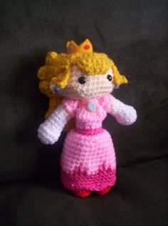 Save me, Mario! Princess Peach and a Bowser Backpack - CROCHET