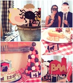 Charlotte's Web Farm Party with Such Cute Ideas via Kara's Party Ideas | KarasPartyIdeas.com #FarmParty #CharlottesWeb #PartyIdeas #PartySupplies