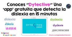 """""""Dytective"""", una nueva herramienta lanzada por Samsungpara detectar la dislexia (actualmente; Trastorno Específico del Aprendizaje con dificultad en la lectura). Como suelo ser bastante escéptica sobre este tipo de tests que puedes realizar en..."""