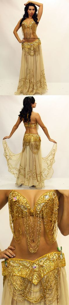 Belly dancer costumes are always so pretty :)
