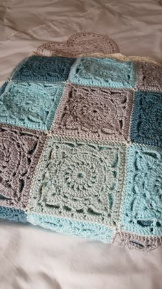 Back in June I shared that I had put aside the Crochet Along blanket that I was working on in order to work on another secret project using...