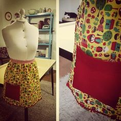 Vintage apron #9 by Atelier Poematique