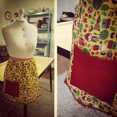Vintage apron #9 by Atelier Poematique