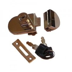 ezlok Bolt On Glass Door Lock With Bolt On Keep - easylocks