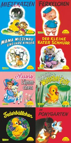 Pixi-Bundle 8er Serie 65: Tiergeschichten: Amazon.de: Bücher