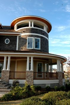 I love the wrap around porch and would love to add a swing and would love access to the top lookout