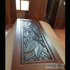 Our Teak wooden doors are designed and manufactured by a team of designers from CareLine Studio with over 20 years experience in multiple countries including Europe U.A and Southeast Asia. - August 24 2019 at Main Entrance Door Design, Wooden Front Door Design, Wood Door Frame, Wood Doors, Door Frames, Modern Wooden Doors, Modern Door, Indoor Barn Doors, Pooja Room Door Design