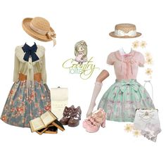 """Lolita Challenge! Country Lolita"" by soapbubblerainbow on Polyvore"