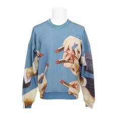 MSGM & Toiletpaper limited sweater edition #fashionindusrty #streetwear