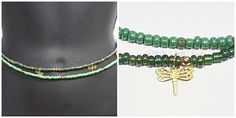 Waist Beads, Beaded Belly Chain, Seed Beads, African Waist Beads, Women's Jewelry, Body Jewelry, Minimalist Jewelry, Women's Body Jewelry,. One beautifully handcrafted beaded belly chain. This belly chain is perfect for the summer with a bikini or a simple crop top! Show off all that hard work! Also great gift idea for the holidays. Simply made with black a/b mystic 6/0 glass seed beads. Simply measure the size of your waist/hips (however high or low you want your belly chain to hang)…