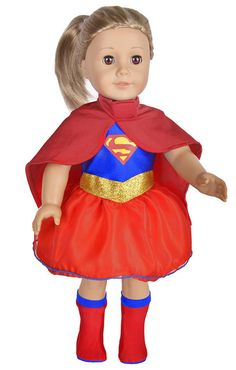 Trendy Dolls - Save $5. Super Hero Costume For American Girl Dolls, $14.99 (http://www.mytrendydoll.com/save-5-super-hero-costume-for-american-girl-dolls/)