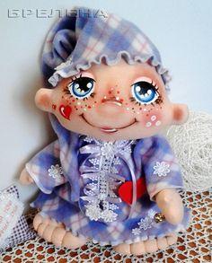 Купить Большой Сплюх Баюнка - волшебных снов хранитель. - текстильная кукла, купить текстильную куклу