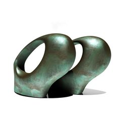 3d henry moore oval - Henry Moore - Double Oval... by dimosbarbos