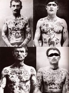 Retro Russian Tattoos.