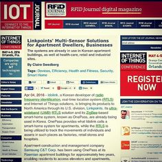 Proud to announce our OnePass Smart Apartment Solution along with our UWB RTLS Solution have been featured in IoT Journal! Check out full article link in bio.  #iot #technology #connection #entrepreneurs #startup #smarthome #rtls #uwb #rfid #tracking by linkpoints
