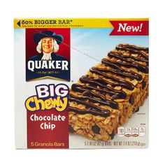 Best New Snack Bar - Quaker Big Chewy Chocolate Chip
