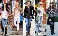Tendência: Jeans rasgado
