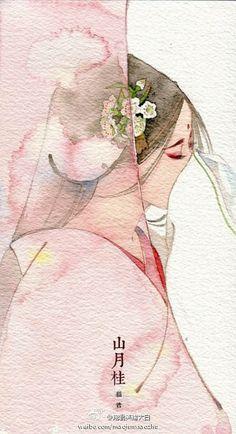 by Chinese illustrator Ibuki Satsuki 伊吹五月