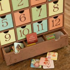 3 seasons advent calendar - Christmas, Easter & Thanksgiving Holiday countdown