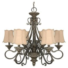 Classic Style Chandelier....perfect for a foyer.