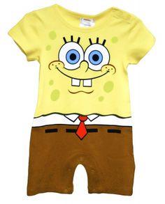 baby SpongeBob Costume
