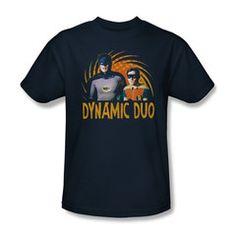 Batman Classic 1966 TV Dynamic Duo Mens T-Shirt $19.99