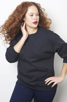 sabina karlsson rebdolls basic sweatshirt