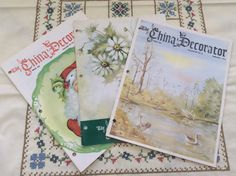 China Decorator Magazines 1975 Porcelain by InTheHeartofDixie