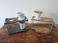Let it Pour Industrial Pour Over Coffee stands by RizzoAndCrane $75+