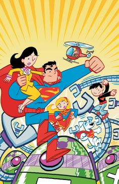 The Superman Family :D    Same creative team as Tiny Titans, awesome.