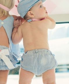 Ruggedbutts Baby-boys Funky Frog Bloomers Light Blue