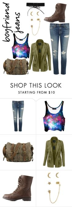 """""""Untitled #117"""" by kcatdee on Polyvore featuring rag & bone/JEAN, LE3NO, Charlotte Russe, Accessorize and Simons"""