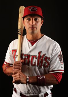 SCOTTSDALE, AZ - FEBRUARY 19: Martin Prado #14 of the Arizona Diamondbacks poses for a portrait during spring training photo day at Salt River Fields at Talking Stick on February 19, 2014 in Scottsdale, Arizona. (Photo by Christian Petersen/Getty Images)