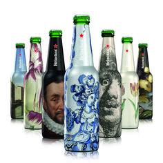DielineAwards 2015: 3rd Place Beer - #Heineken Amsterdam Originals, The #Rijksmuseum Bottles