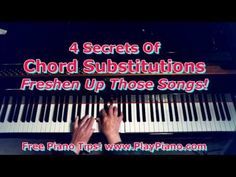 How to re-harmonize piano chords in songs | Piano Lessons for Adults