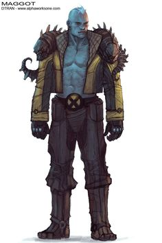 Sweet Maggot Design from X-men!