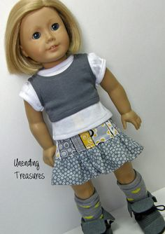American Girl doll clothes 18 inch doll by Unendingtreasures, $16.00