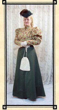 River Junction Trade Co - Afternoon Tea Victorian Lady Outfit